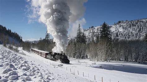 christmas   cumbres  toltec scenic railroad youtube