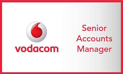 vodacom accounts senior accounts manager