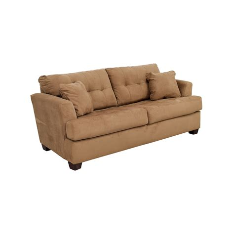 chocolate brown microfiber ottoman tan microfiber couch tan microfiber couch and loveseat