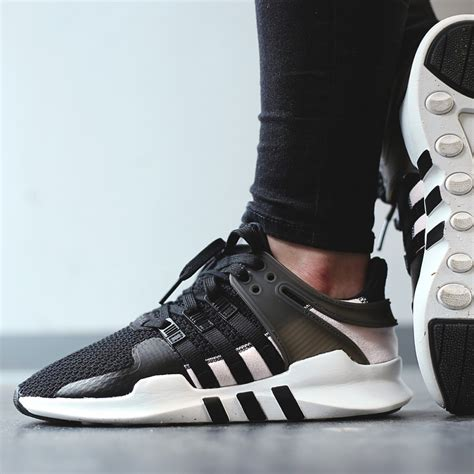 Adidas Equipment Support Black White Pink adidas w eqt support adv black clear pink where