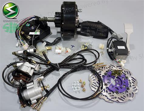 electric car motor kits 72v 90kph electric car conversion kits 2x3000w hub motor