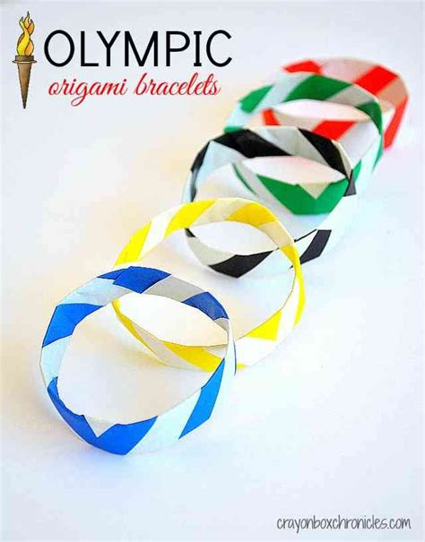 Robo Am303 Summer Day Box diy olympic origami bracelets blue yellow opening day and events