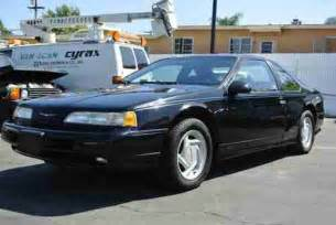 Ford Sc Purchase Used 1993 Ford Thunderbird Sc Coupe T Bird
