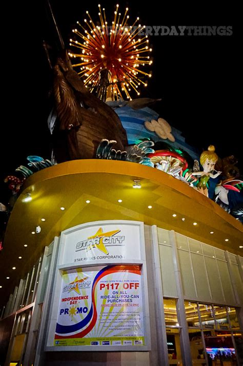 theme park in manila visiting philippines checking out star city amusement