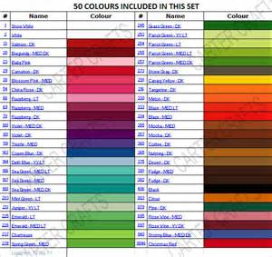 coats and clark thread color chart coats and clark thread color chart 2017 2018 best cars