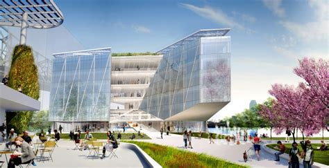Cornell Tech Nyc Mba by Corporate Co Location Building By Weiss Manfredi