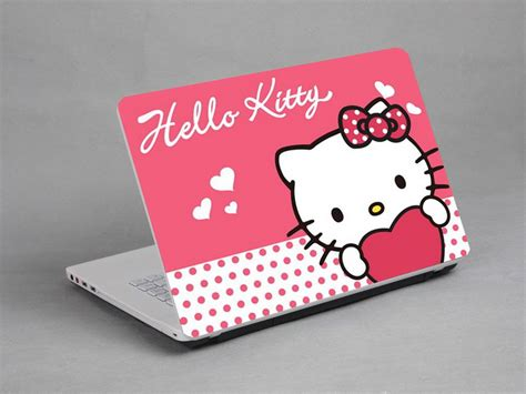 Hello Computer Covers by Laptop Notebook Skin Sticker Cover Cat Toshiba