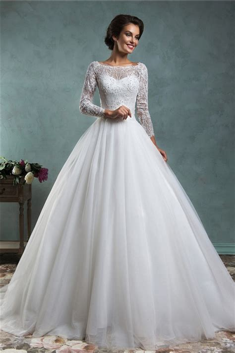 beaded tulle gown wedding bridal dress gown lace applique