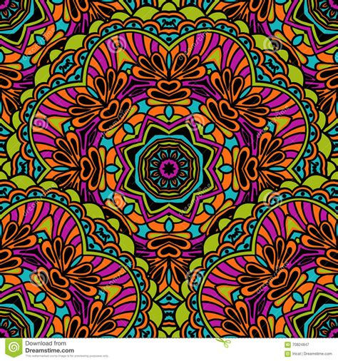 bright colorful tribal patterns