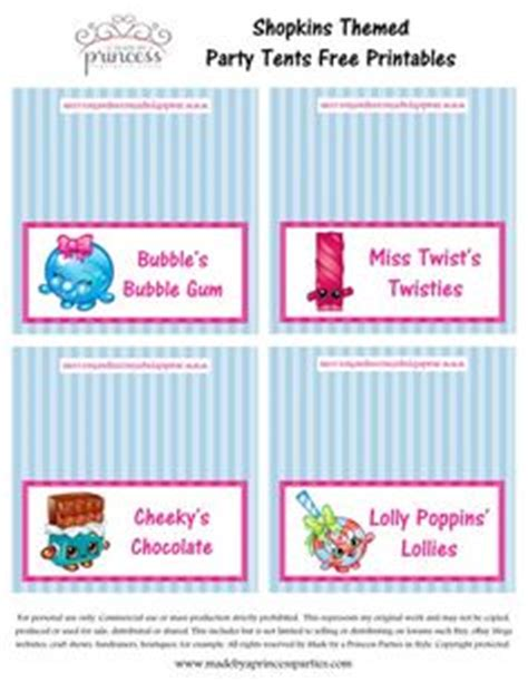 Shopkins Printable Labels Shopkins Bookmark Printable Shopkins Water Bottle Labels Made By Cryo Babies Label Template Word