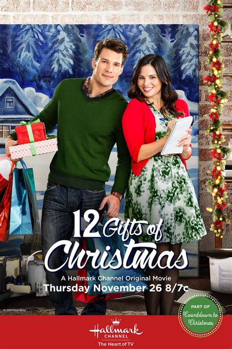 12 gifts of christmas extra large movie poster image