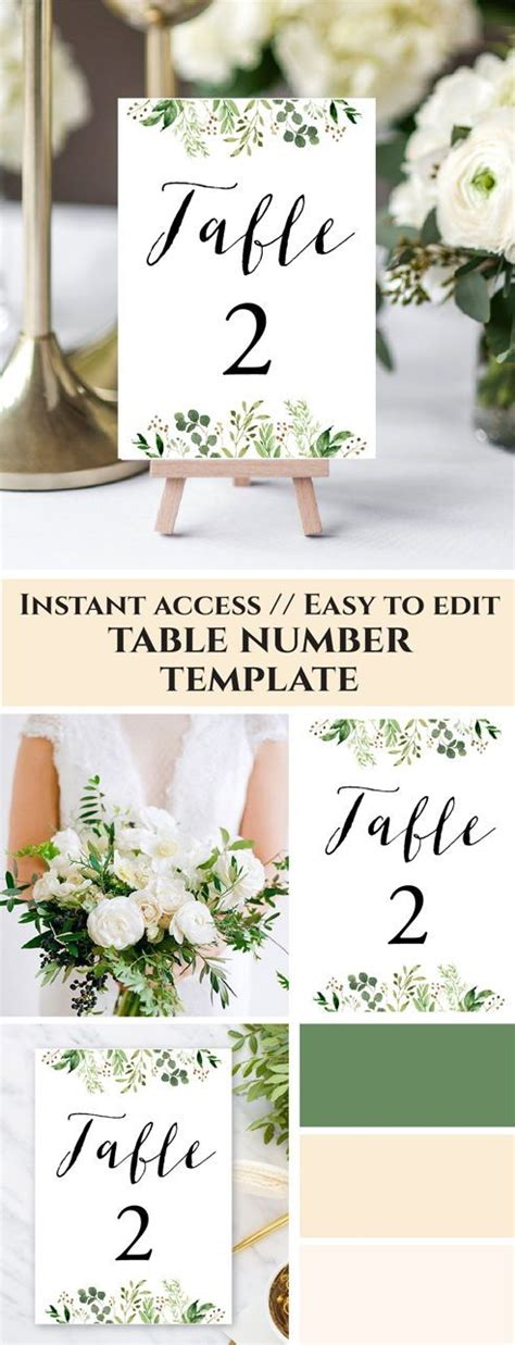 table numbers for wedding reception templates printable table numbers for wedding reception templates