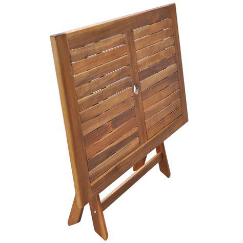 tavolo legno esterno vidaxl tavolo da esterno in legno di acacia vidaxl it