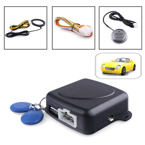 Alarm Immobilizer car alarm immobilizer pivot start button auto ignition system