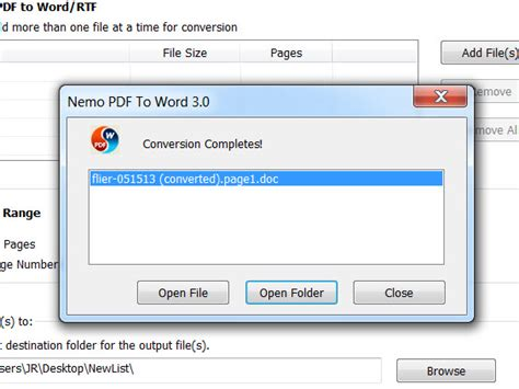 convert pdf to word via online how to convert pdf to word using free nemo software 5 steps