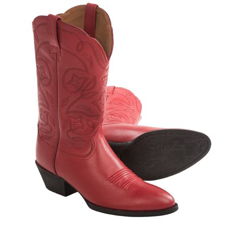 cowboy boots for ariat heritage western cowboy boots r toe 12 for