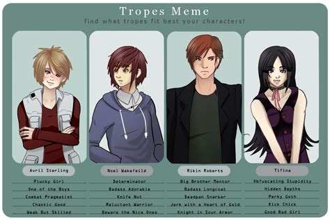 tv tropes tv tropes meme by rommie rin on deviantart