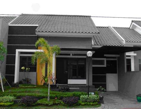 gambar rumah minimalis  lantai tampak depan  warna