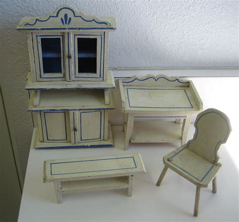 kitchen dollhouse furniture antique german kitchen gottschalk dollhouse miniature
