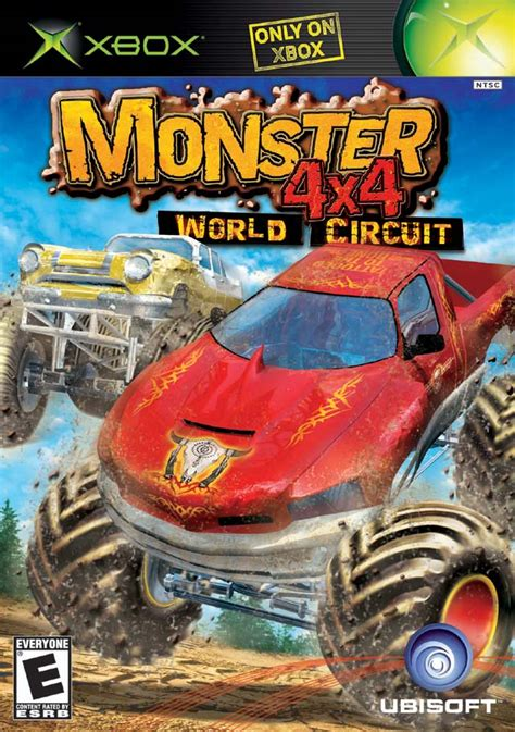 monster truck video games xbox monster 4x4 world circuit xbox