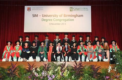 Of Birmingham Mba Singapore by Singapore Students Celebrate Graduating Last Year From The