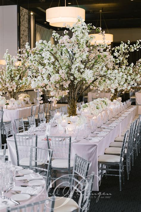 gorgeous cherry blossom wedding centerpieces toronto