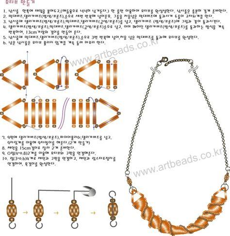 bugle patterns free necklace scheme bugle bead patterns