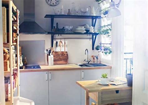 Ikea Small Kitchen Design Ideas by Creative Small Kitchen Ideas Feedpuzzle