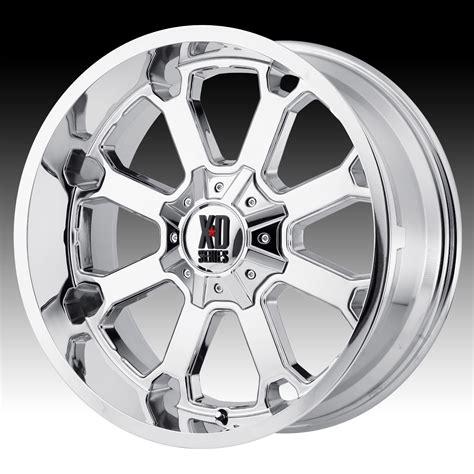 chrome xd wheels kmc xd series xd825 buck 25 chrome custom wheels rims xd