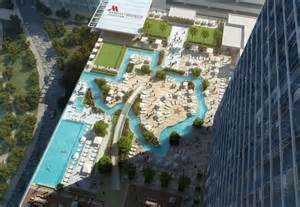 Lazy River Tx Marriott Marquis Houston Will Include Rooftop Lazy River