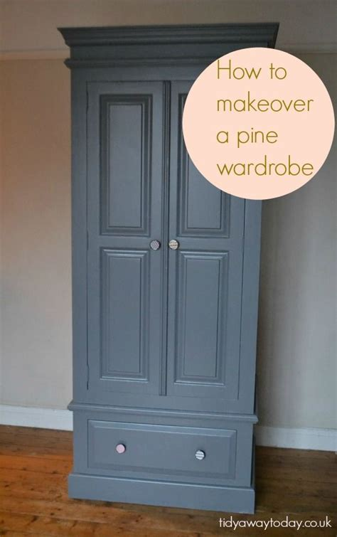 How To Paint A Wooden Wardrobe White by The 25 Best Wardrobe Makeover Ideas On