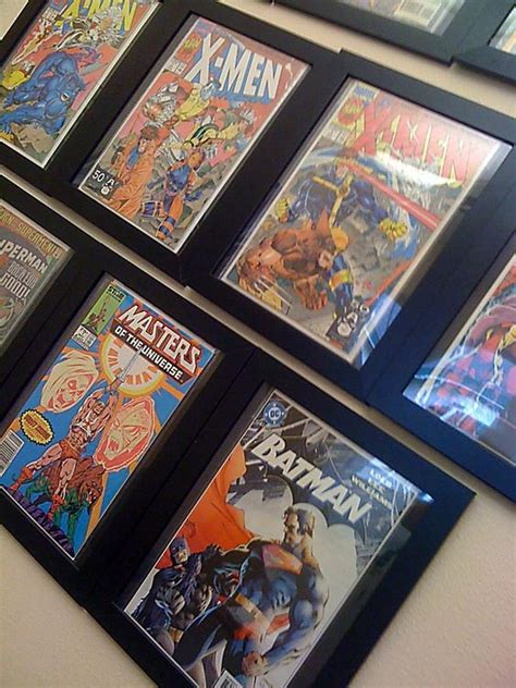 cheapest way to frame cheap way to frame and hang comics what a great