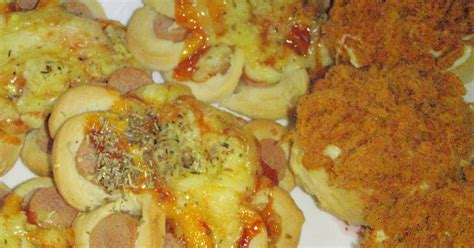 membuat roti chicken floss cakes in johor bahru roti hotdog pizza chicken floss bun
