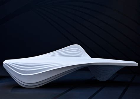 zaha hadid bench serac bench by zaha hadid furniture brabbu brabbu design forces