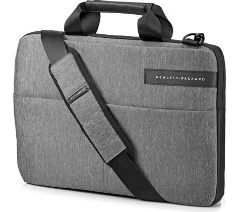 Hp Slim Bag Ez142aa hp signature slim topload 14 quot laptop messenger bag grey deals pc world