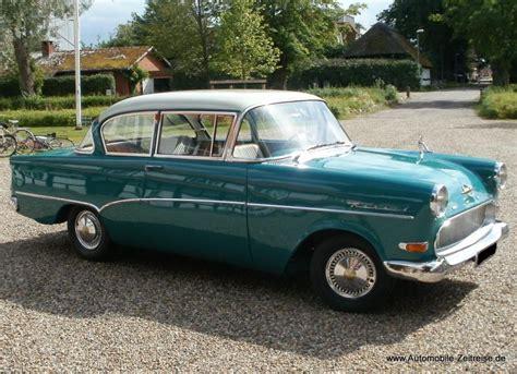 opel rekord p1 bj 1958 automobile zeitreise