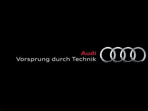 Audi Vorsprung Durch Technik vorsprung durch technik what does it mean car guy