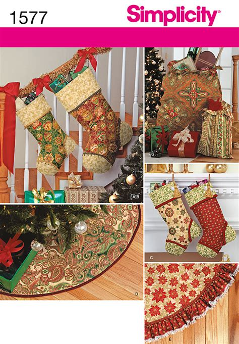 patterns christmas decorations sew simplicity 1577 holiday d 233 cor sewing pattern