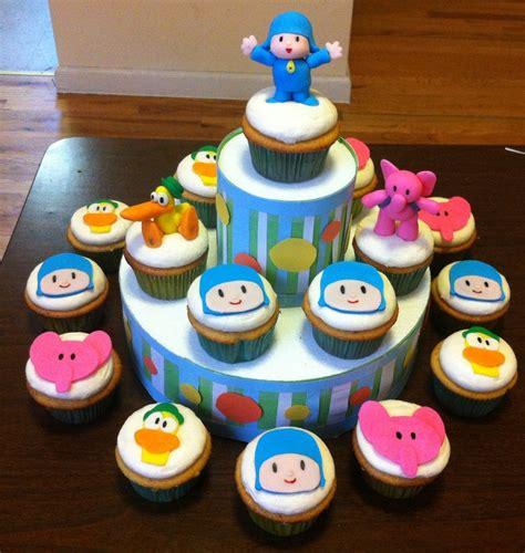 pocoyo cupcakes marvaliss cupcakes