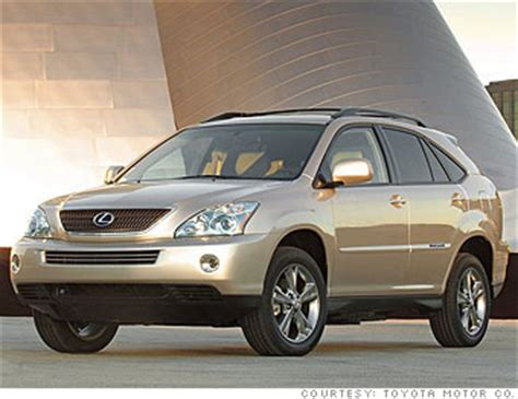 lexus crossover 2008 top 10 luxury rides crossover wagon lexus rx400h awd 8