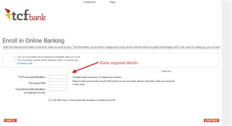 fcf bank tcf bank banking login cc bank