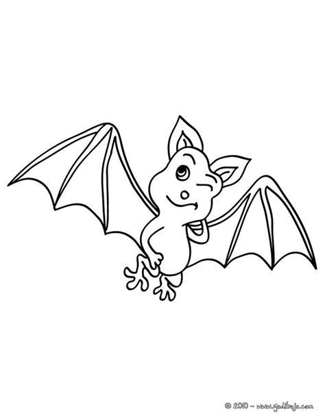 imagenes de halloween sin color dibujos para colorear gui 241 o murcielago es hellokids com
