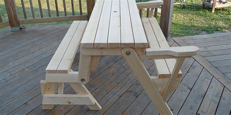 build a folding picnic table with 2x4s my woodworking