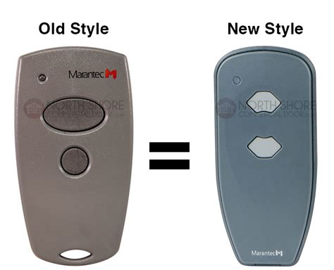 Marantec 2 Button Garage Door Opener Mini Remote M3 2312 Marantec Garage Door Remote