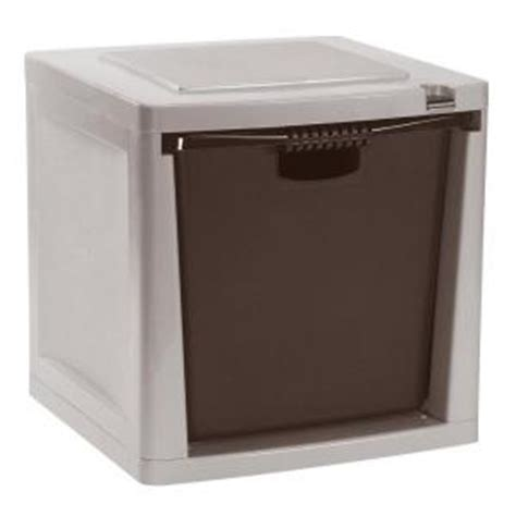 Home Depot Drawers by Suncast Storage Trends Heavy Duty 50 Lb Capacity Stacking