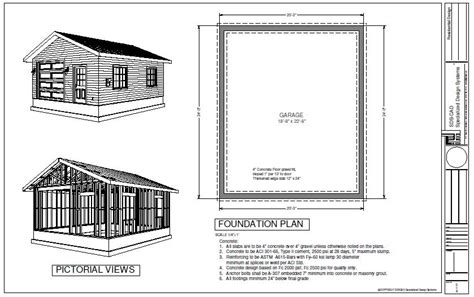 20 X 24 Garage Plans | 20 x 24 garage plans with loft easy shed plans guide
