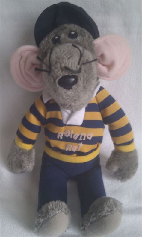 vintage rare  big roland rat superstar collectable