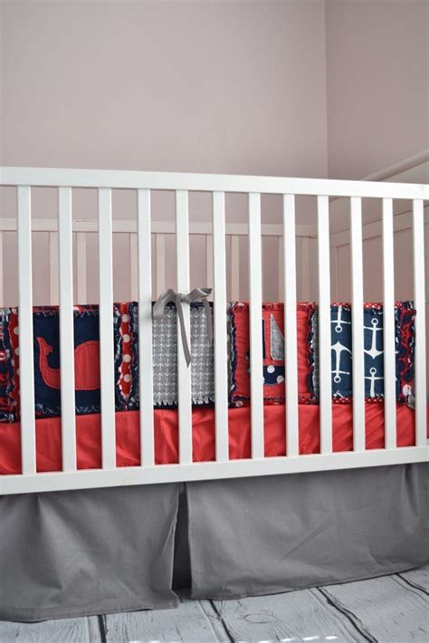 Nautical Crib Bedding For Boys 122 Best Nautical Nursery S Images On Baby Boy Nurseries Nautical Crib Bedding And