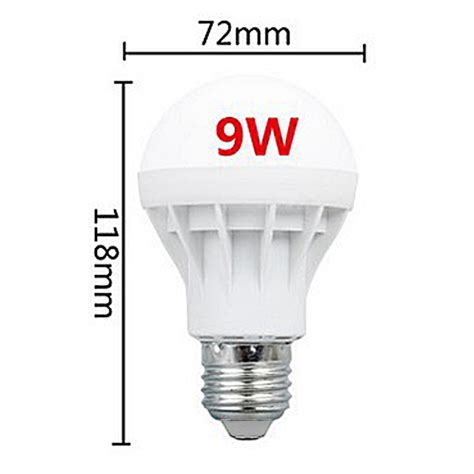 smart e27 led intelligent light 220v bulb 3 5 7 9 15w