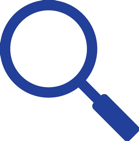 Blue Search 12 Magnifying Glass Icon Blue Images Magnifying Glass Search Icon Blue Magnifying